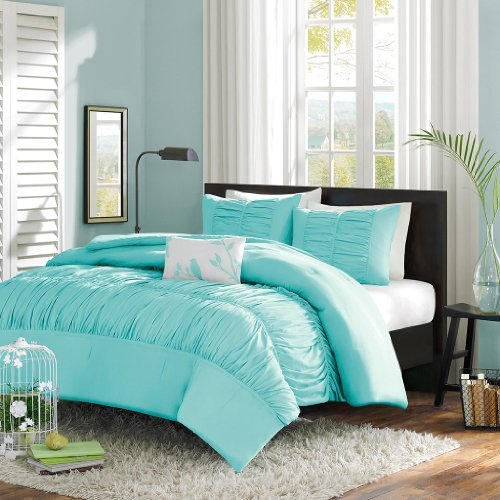 Solid dark purple bedding - The Comfort And D 233 Cor Effect Of A Teal Comforter Teal